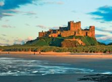 Bamburgh Castle Dusk Notecard
